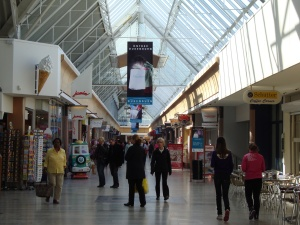Nijmegen winkelcentrum Dukenburg
